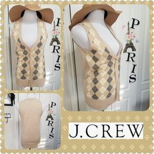 J Crew Sontousa  Cashmere Sweater  Vest